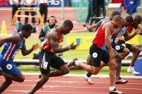 Dwain Chambers 100m semis